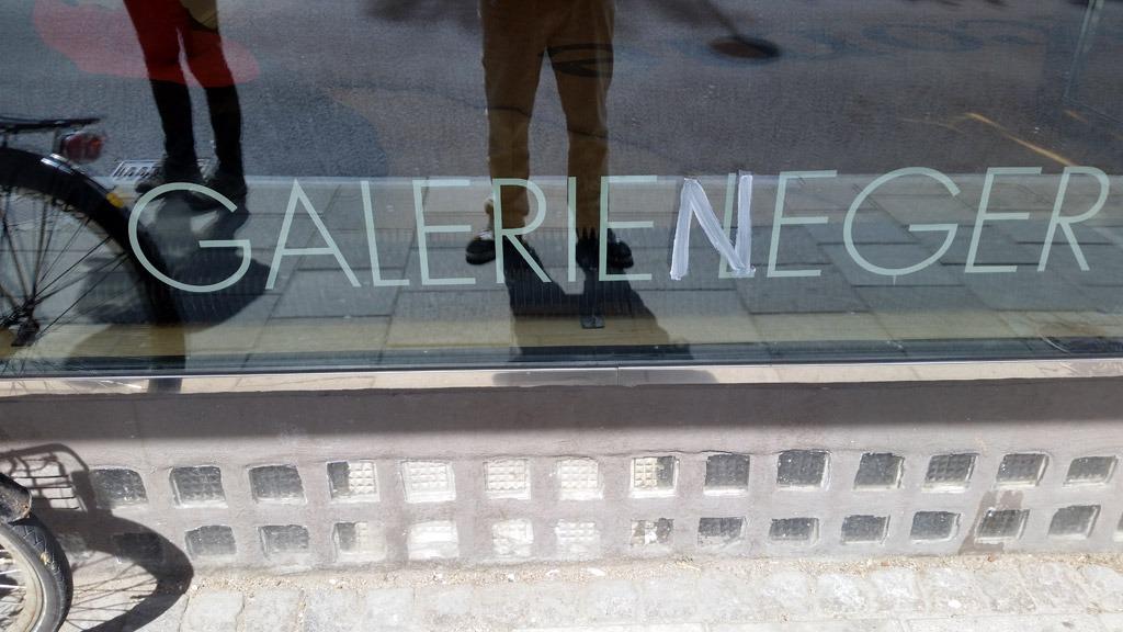 Anrika Galerie Leger hade för dagen bytt namn. Foto: Nya Tider