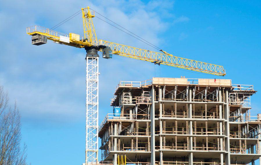 Många nya bostäder byggs, men på grund av den stora invandringen är det ändå bostadsbrist. Foto: Växjöbostäder