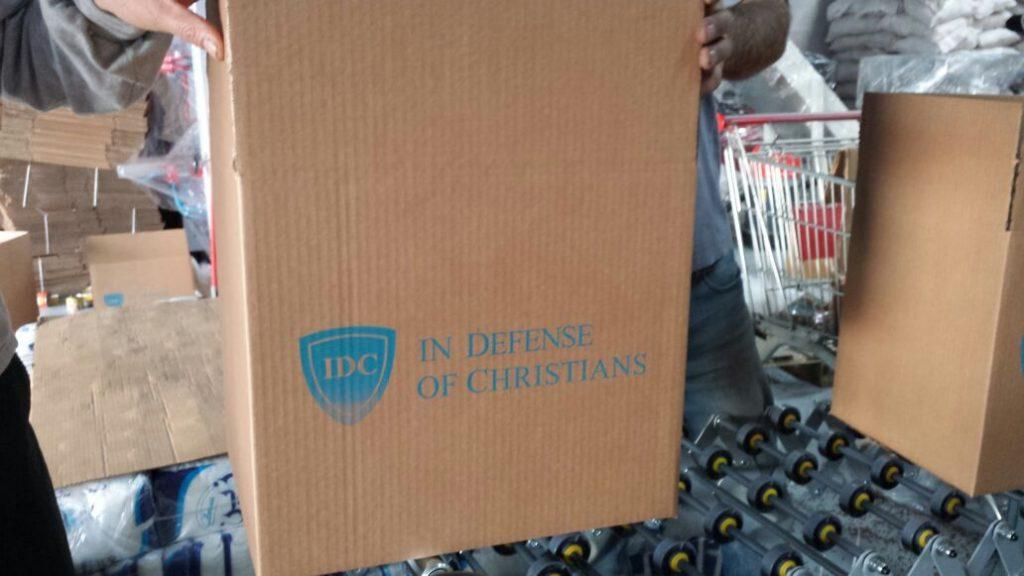 IDC har en egen hjälporganisation, här under arbete i Libanon. Foto: IDC