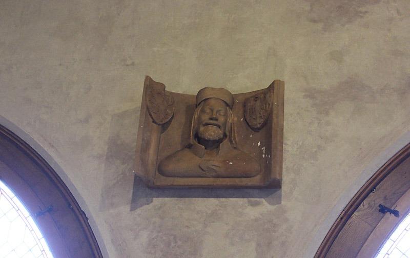 Karl IV avbildad inne på Karlstein. Foto: Nya Tider