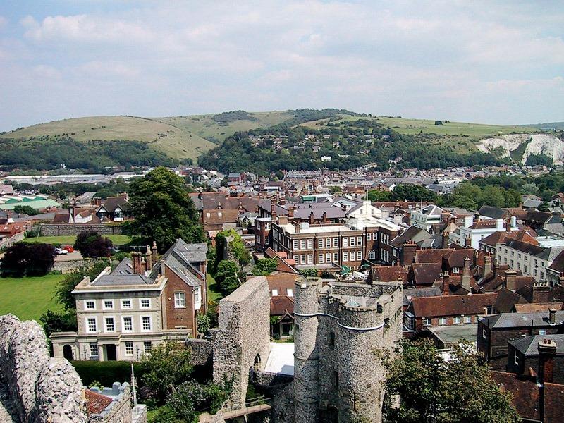 Lewes är den administrativa staden i grevskapet East Sussex med en befolkning av cirka 17 000 personer enligt 2011 års folkräkning. Foto: Wikipedia