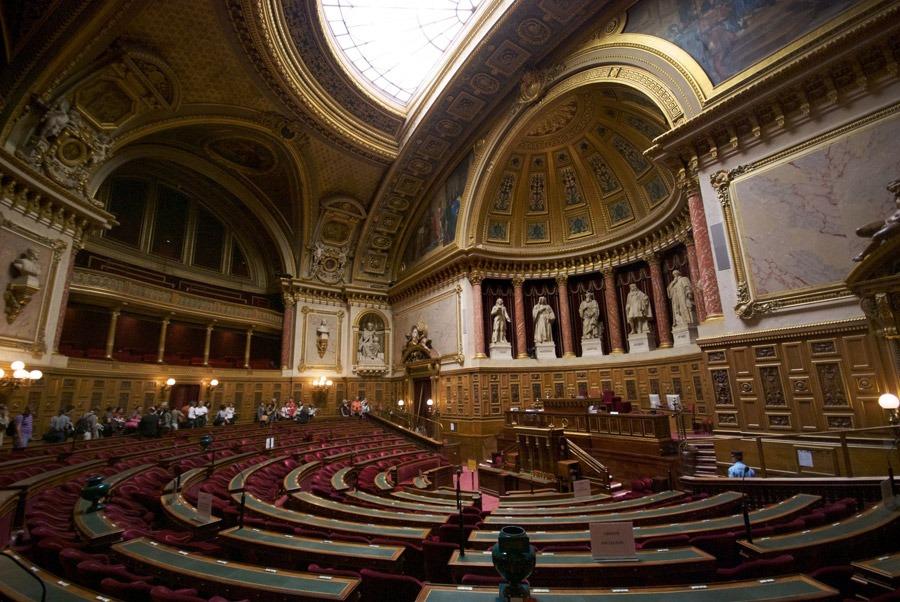 Luxembourgpalatsets interiör. Foto: Wikipedia