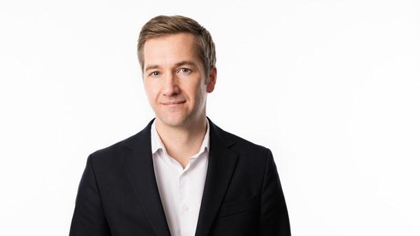 Olle Zachrison, chef och ansvarig utgivare för Ekot. Foro: SR