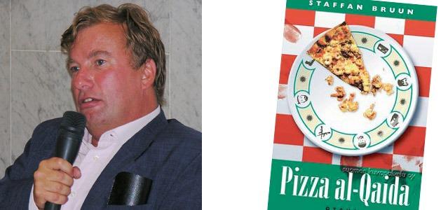 Pizza al-Qaida, av Staffan Bruun, Schildts 2005, 262 sidor. Foto: Wikipedia