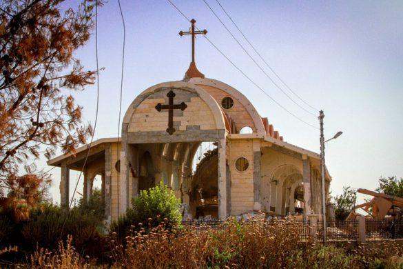 I Syrien levde de kristna i trygghet innan kriget. Foto: IDC